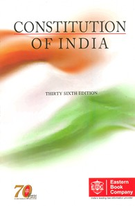 Constitution of India (with Short Notes and Subject Index) [Large Edition]