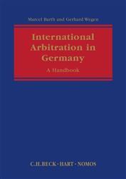 International Arbitration in Germany: A Handbook