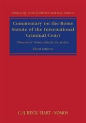 The Rome Statute of the International Criminal Court: A Commentary 3rd ed