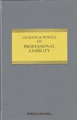 Jackson & Powell on Professional Liability 8th ed