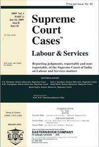 Supreme Court Cases (Labour & Services) - SCC(L&S)