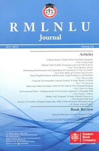 RMLNLU Journal