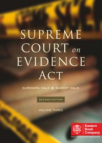 Supreme Court On Evidence Act [In 3 Volumes] - Covers about 65 years of Supreme Court case-law from 1950 to 2014