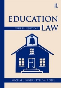 Education Law - 4th Edition