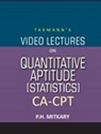 CA-CPT - Video Lectures on Quantitative Aptitude (Statistics) (Set of 2 DVDs)