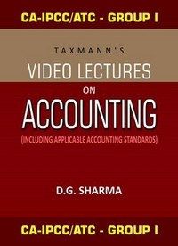 CA-IPCC/ATC (Group I) Video Lectures on Accounting (Set of 8 DVDs)