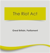 The Riot Act  (free ebook)