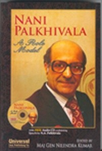 Nani Palkhivala - A Role Model (With free) Audio CD Containing speech by Nani Palkhivala)