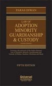 Law of Adoption Minority Guardianship & Custody