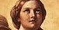 Virgin mary by annibale carracci cropped