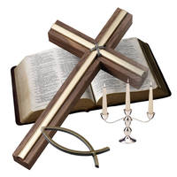 Cross and bible   mp900384909
