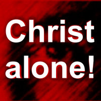 Christ alone avatar rooi