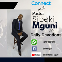 Connect with pastor sibeki