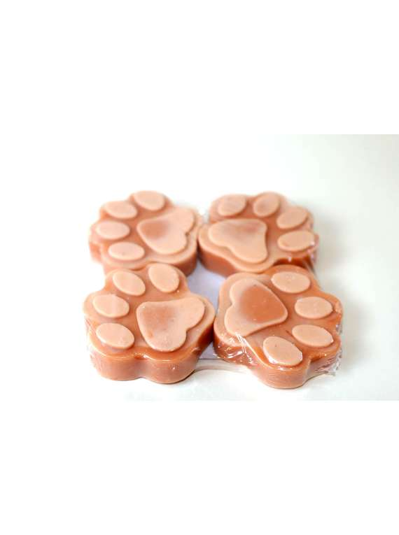 Brown And Peach Pet Shampoo Bars- By Signature Paws