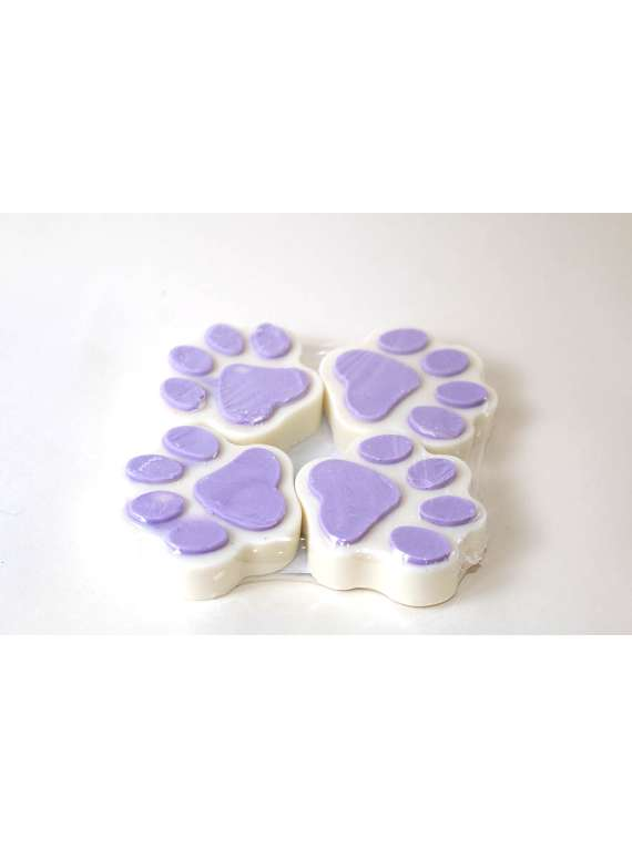 White And Lilac Pet Shampoo Bars- By Signature Paws