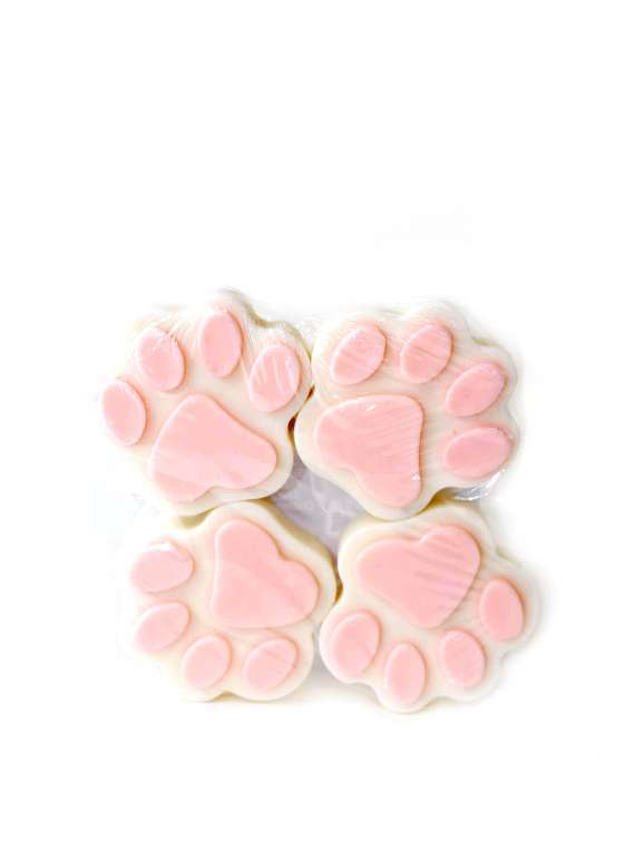 Pink And White  Pet Shampoo Bars- By Signature Paws