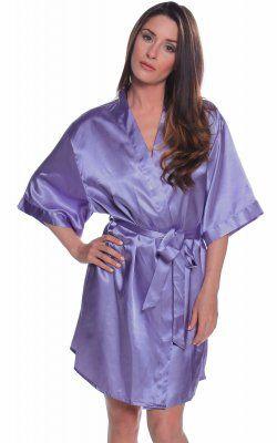 Short Robe - 3028x Violet