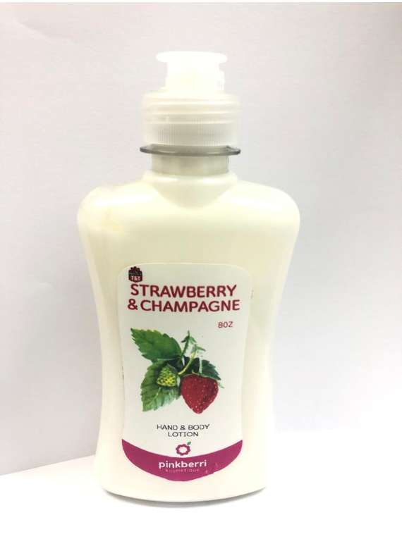 Strawberry And Champagne Hand And Body Lotion