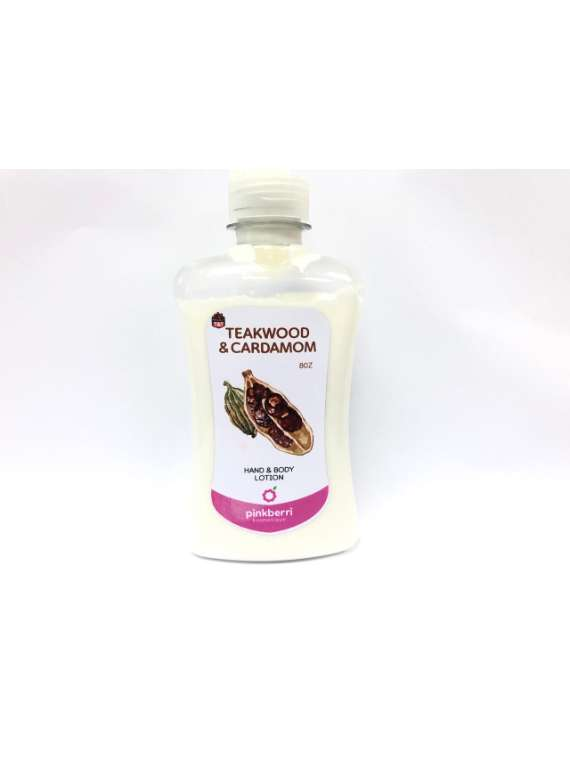 Teakwood And Cardamom For Men Hand And Body Lotion
