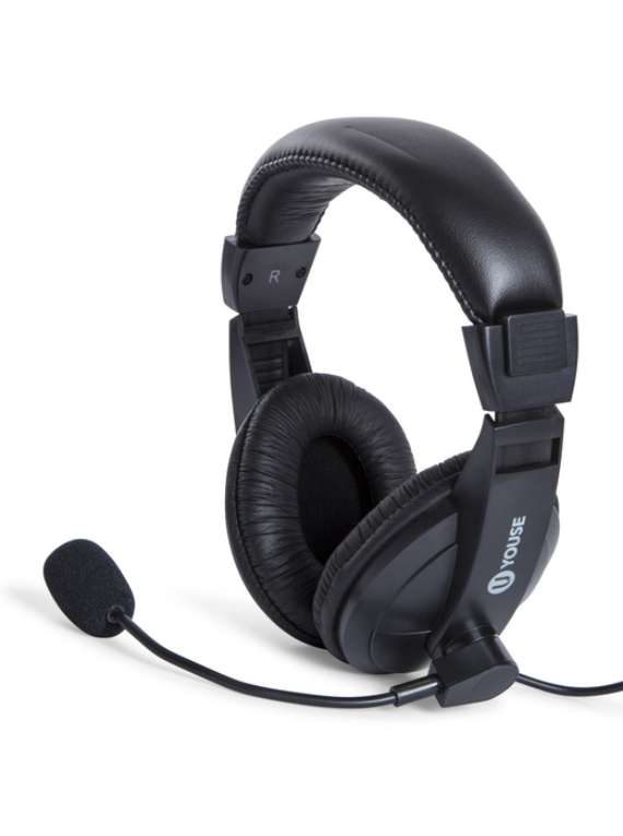 Gaming Headset With Boom Mic
