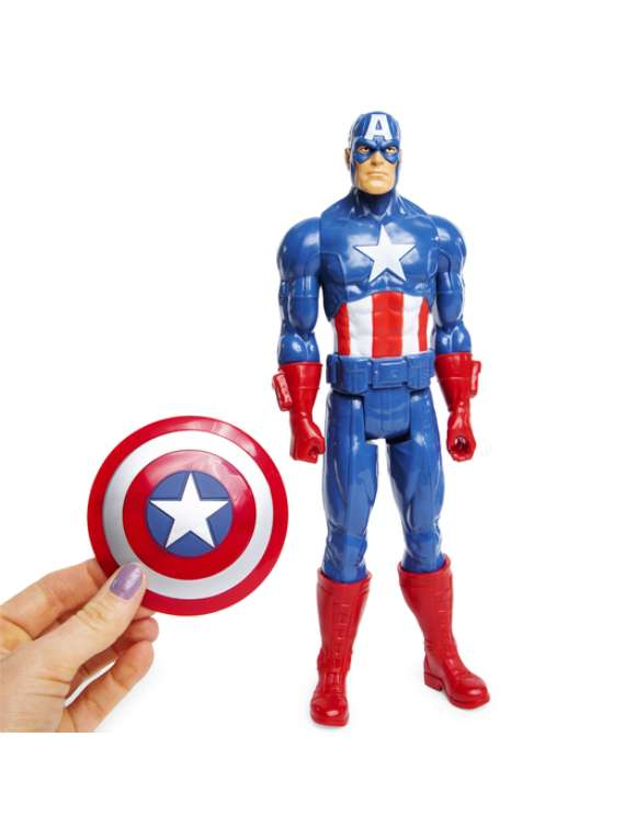 Marvel® Avengers Titan Hero Series™ Captain America™ 12in Action Figure