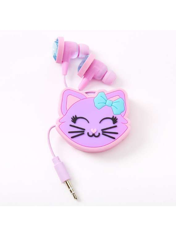 Cat Hearts Earbuds & Winder Set