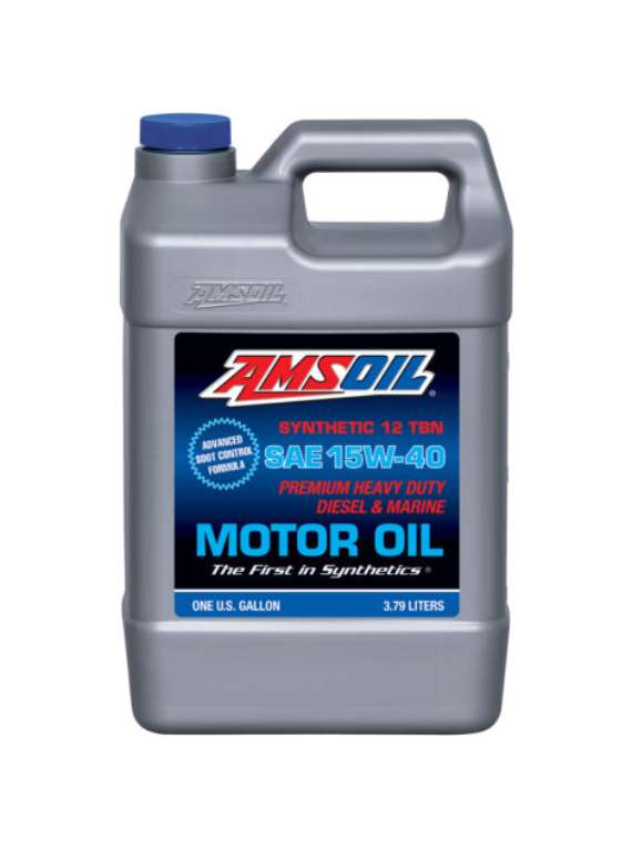 Amsoil 15w-40 Full Synthetic Motor Oil Gallon