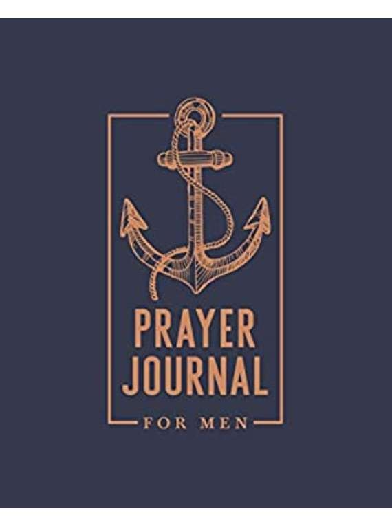 Prayer Journal For Men...