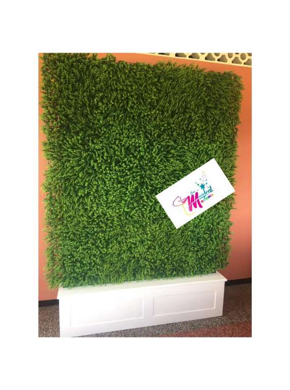 GRASS BOXWOOD BACKDROP