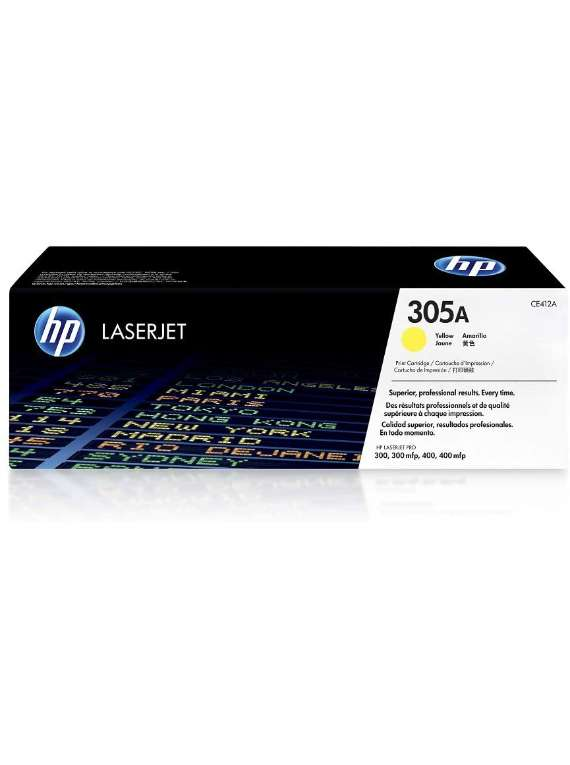HP Laserjet 305A Toner Yellow