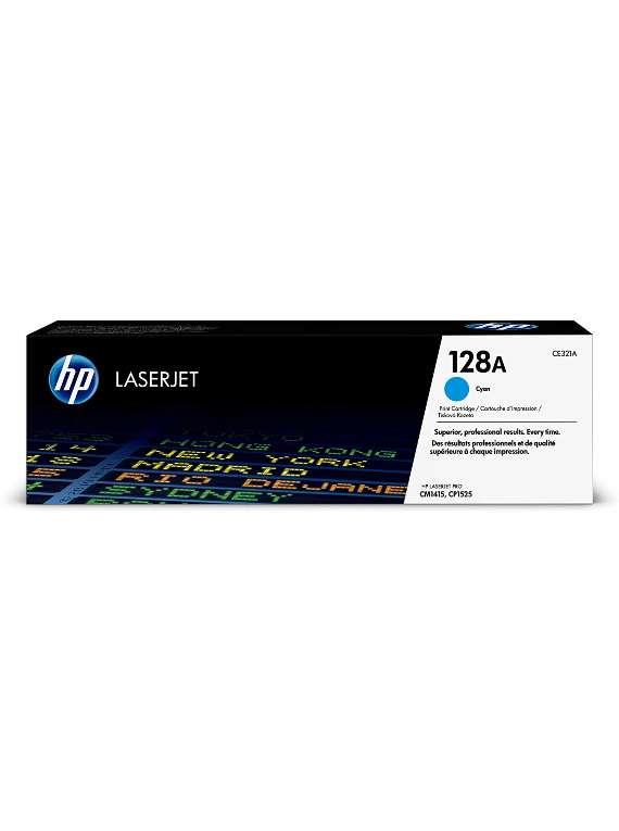 HP Laserjet 128A Toner Cyan