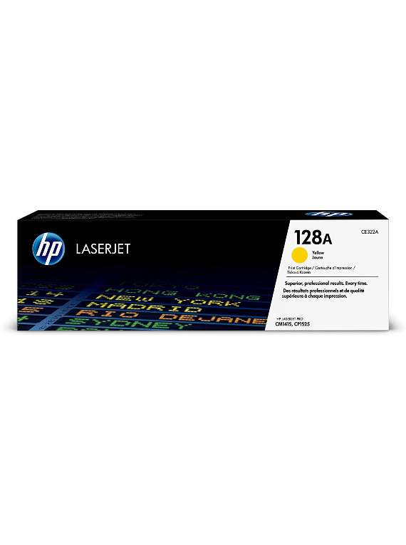 HP Laserjet 128A Toner Yelow