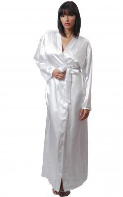 Long Robe - 3049 White