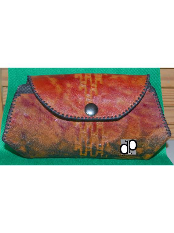 Unisex Leather Belt Pouch/clutch