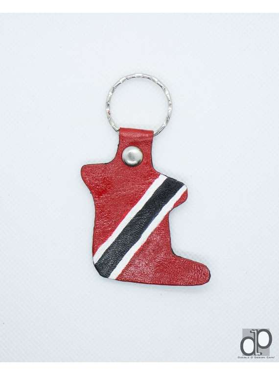 Leather Trinidad Keychain