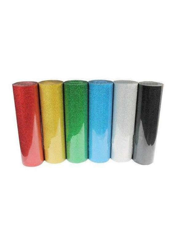 Glitter  Htv Rolls 50yrds