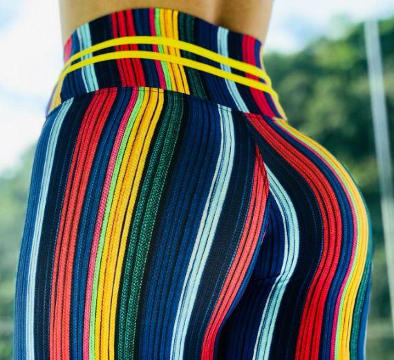 Leggings Colourful Stripe