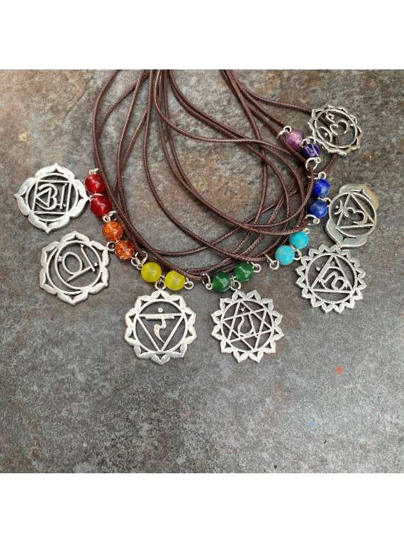 Chakra Pendants Chain