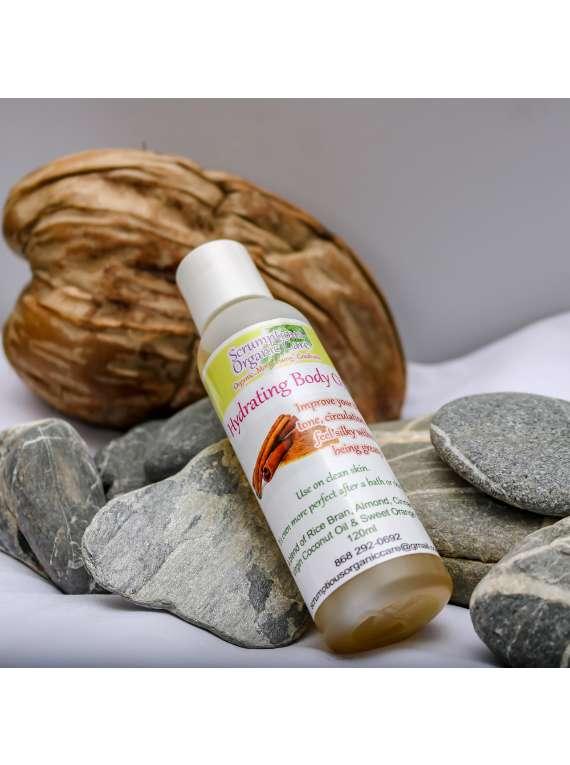 Hydrating Ceylon Cinnamon Infused Body Oil