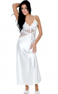 Gown - 6074 White