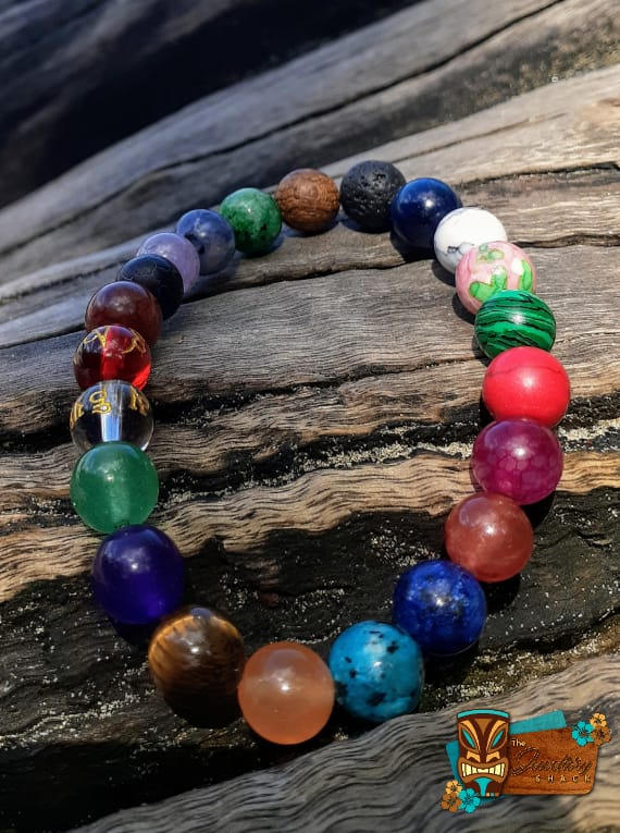 Mixed Agate Bracelet