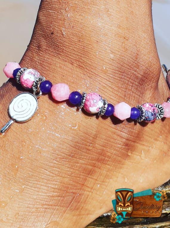 Rhodonite And Purple J...