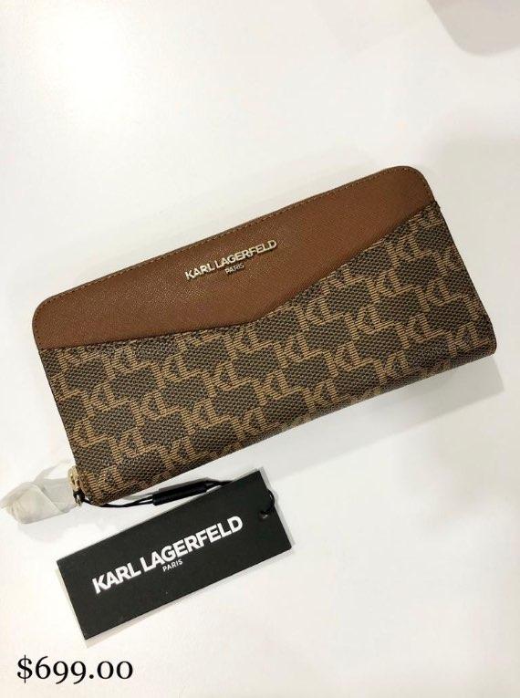 Karl Lagerfeld Zipped Wallet
