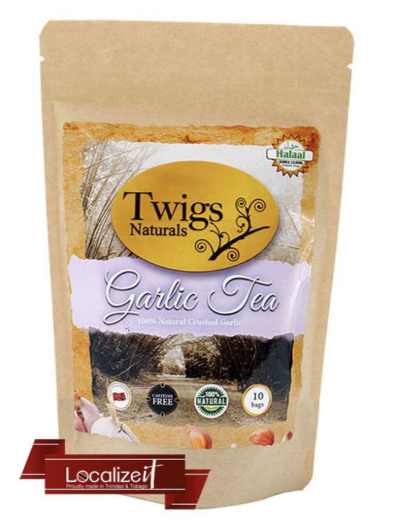 Twigs Organic Garlic Tea