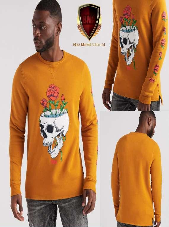 Levis Skull Print Sweater (XL)