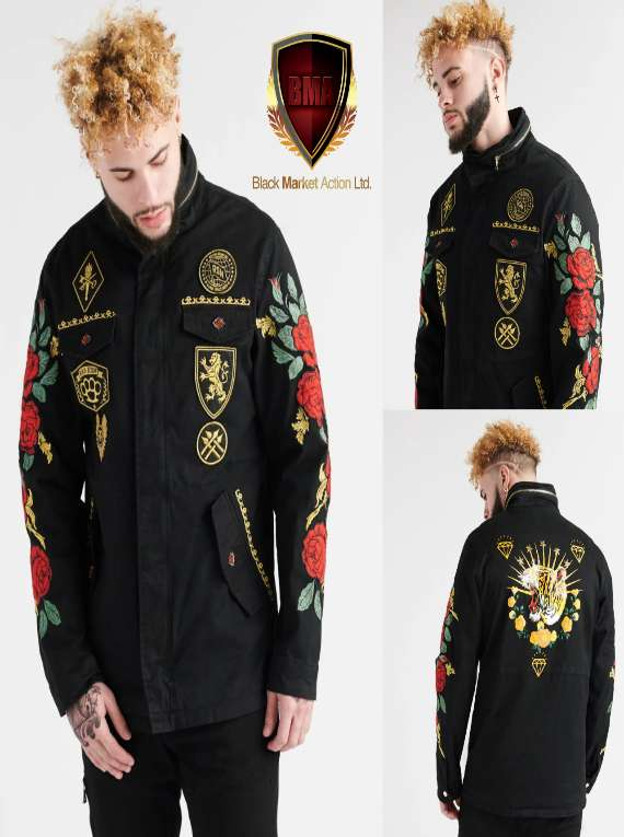 Military Style Jacket (L)
