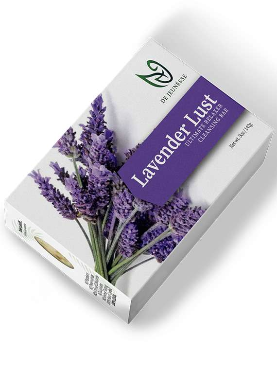 Lavender Lust - Ultimate Relaxer Cleansing Bar. - By De Jeunéusse