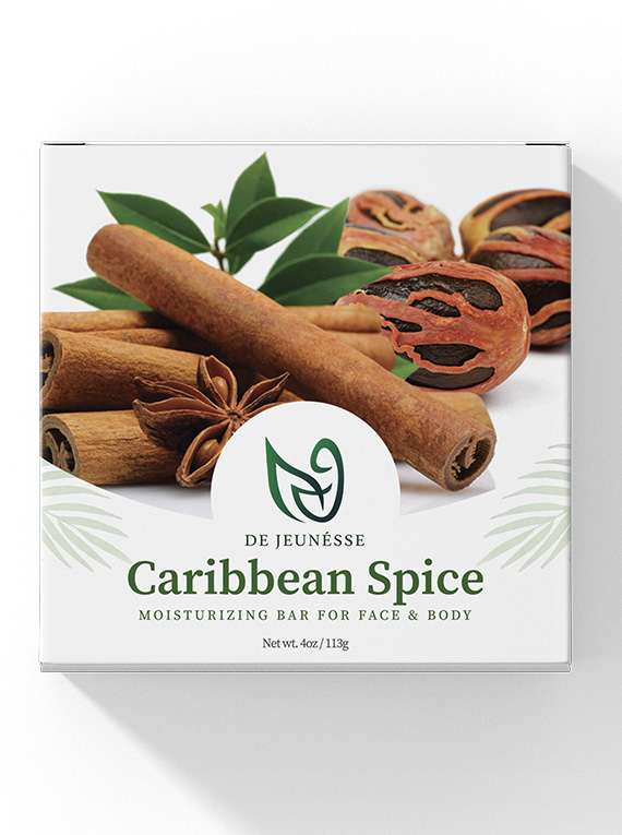 Caribbean Spice - Moisturizing Bar For Face And Body -by De Jeunéusse