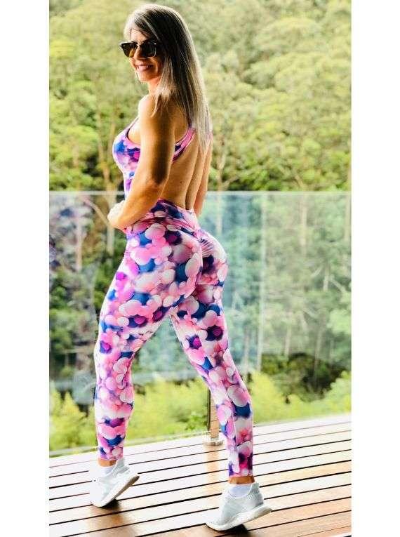 Pink Blur Jumpsuit