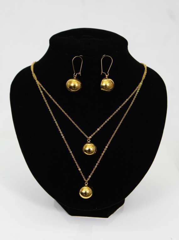 Gold Filled Necklace Set